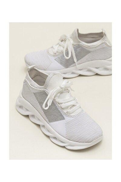 ANZHELA Beyaz Sneaker Kadın Sneaker 20YCD520