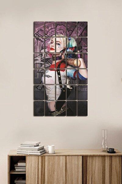 30 Parça Puzzle Mdf Tablo Seti Harley Quinn Pzldkl-131