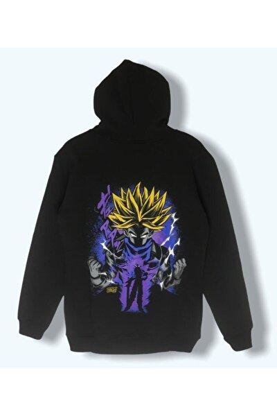 Kadın Siyah Dragon Sweatshirt
