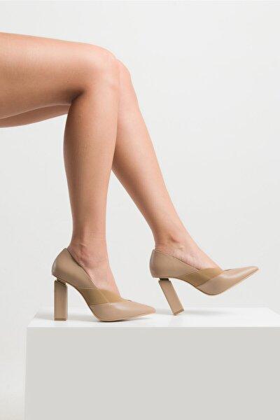 Kadın Vizon Topuklu Ayakkabı