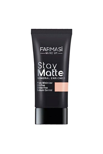 Make Up Stay Matte Fondöten 30 ml Natural 03