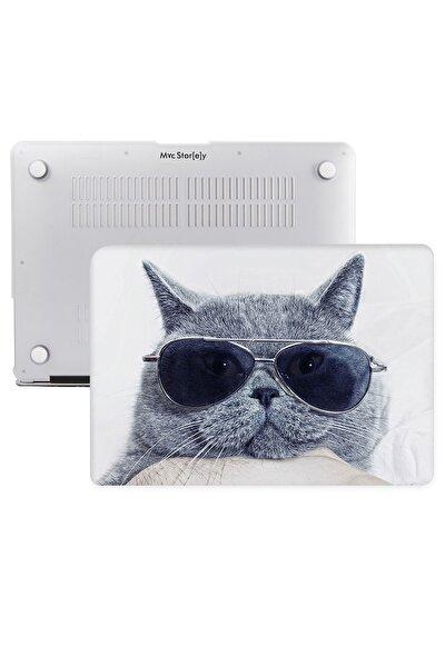 Macbook Pro Uyumlu  Kılıf Hard Case A1706 A1708 A1989 A2159 13 Inç Özel Tasarım Kutulu Cat 01nl