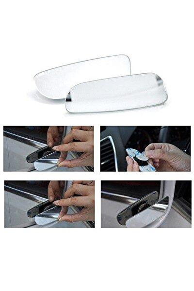 Oto Kör Nokta Ayna Gerçek Ayna Ultra Ince Dikdörtgen 90 Mm Oynar 2 Adet Yüksek Kalite Ve Şık Tasarım