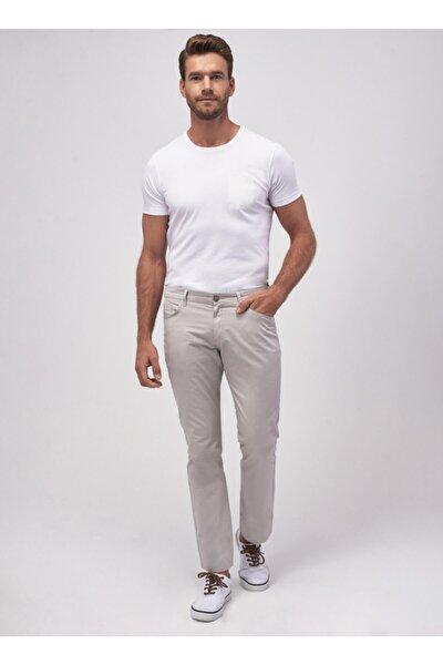 Erkek Taş Slim Fit Chino Pantolon