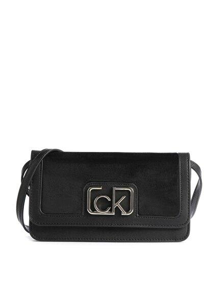 Kadın Siyah Logo Baskılı Çanta K60k607118