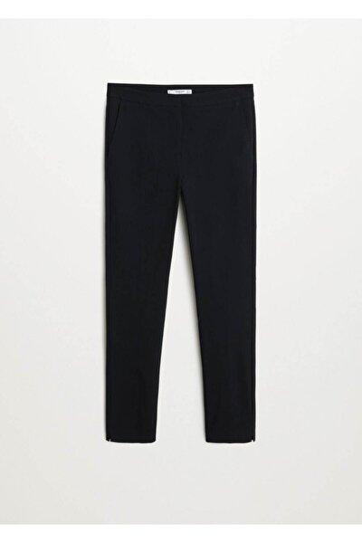 Kadın Siyah Kısa Paçalı Skinny Pantolon 67080514