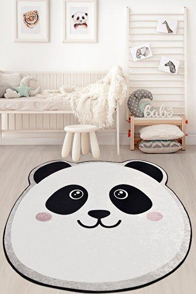 Panda Djt Çap Çocuk ve Bebek Halısı Yıkanabilir ,Kaymaz Taban Leke Tutmaz