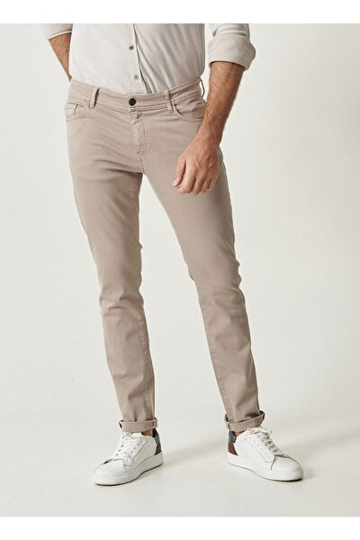 Erkek Taş 360 Derece Her Yöne Esneyen Rahat Slim Fit Pantolon