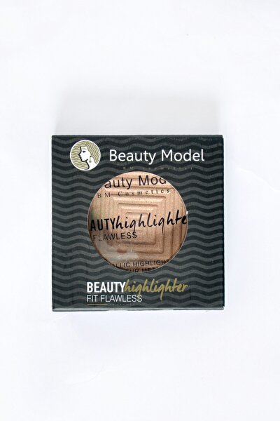 Metalik Aydınlatıcı - Beauty Highlighter Fıt Flawess Molten Gold Metalıc Hıghlighter