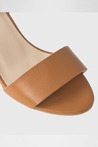 Kadın Taba Topuklu Sandalet