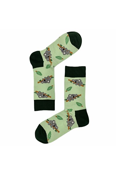 Welcome to the Jungle - Koala - Organic Cotton - Premium Design Socks