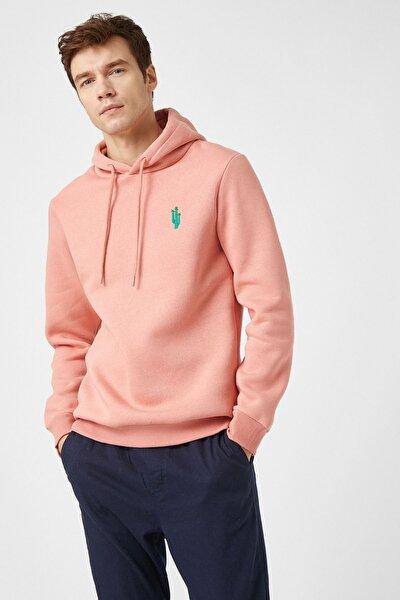 Erkek Pembe Sweatshirt 1YAM71493LK