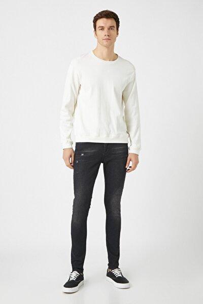 Erkek Siyah Jeans 1KAM43102MD