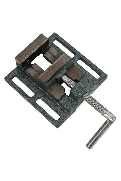 Çelik Sütunlu Matkap Mengenesi Düz Masa Tezgah Mengenesi 2.5'' 65 mm