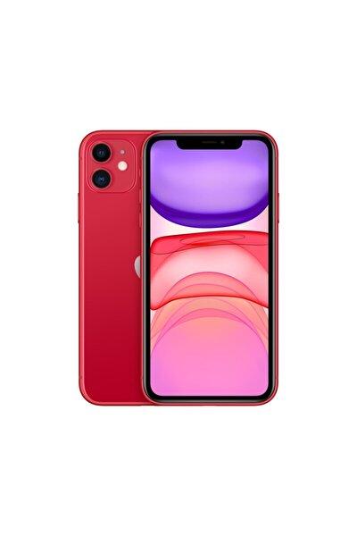 iPhone 11 128GB (PRODUCT)RED Cep Telefonu (Apple Türkiye Garantili) Aksesuarsız Kutu