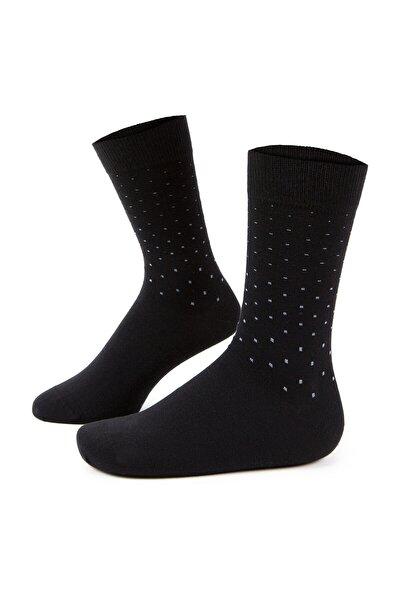 Erkek Siyah Çorap A021SZ013.OUT.NOK-K20