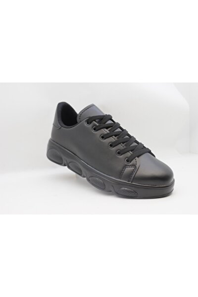 Unisex Siyah Sneaker Ayakabı