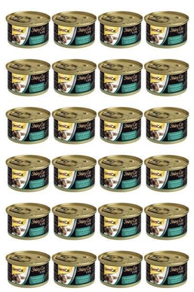 Shinycat Tavuklu Karidesli Konserve Kedi Maması 70 gr X 24 Adet