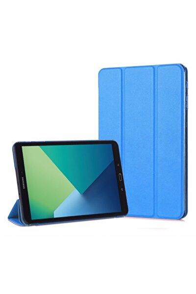 Galaxy Tab A 10.1'' P580 Smart Case Ve Arka Kılıf, Microsonic Mavi