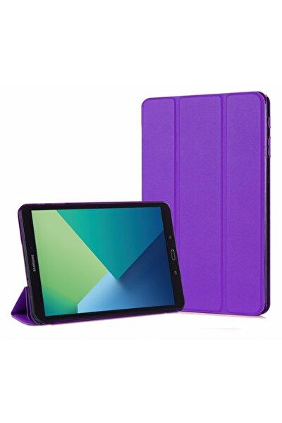 Galaxy Tab A 10.1'' P580 Smart Case Ve Arka Kılıf, Microsonic Mor