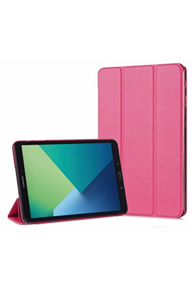 Galaxy Tab A 10.1'' P580 Smart Case Ve Arka Kılıf, Microsonic Pembe