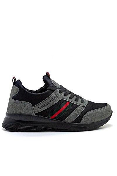 Erkek Gri Spor Ayakkabı Günlük Sneaker