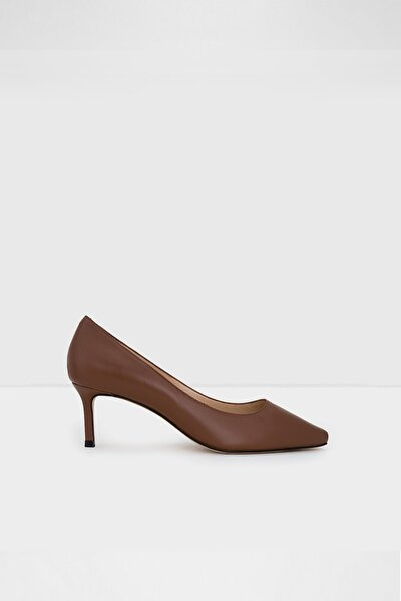 Kadın Kahverengi Topuklu Ayakkabı