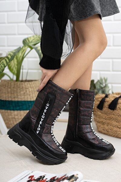 990 Soğuk Geçirmez Kadın Bot Ayakkabı