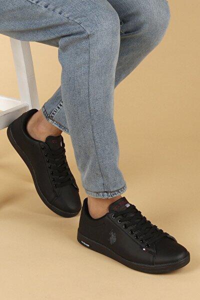 Franco Dhm Günlük Erkek Siyah Spor Ayakkabı