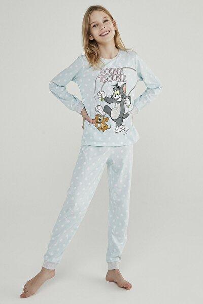 Teen Blue Tom&jerry 2li Pijama Takımı