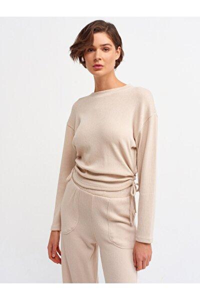 Kadın Taş 3615 Büzgülü T-shirt-