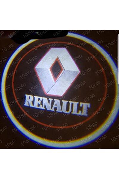 Renault Pilli Mesafe Sensörlü Kapı Altı Logo Yapıştırmalı