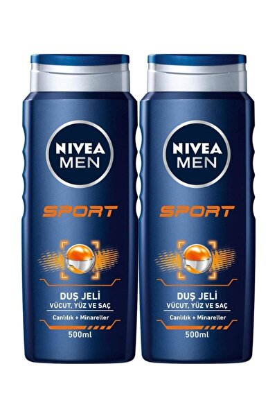 Duş Jeli Sports 500 Ml X 2