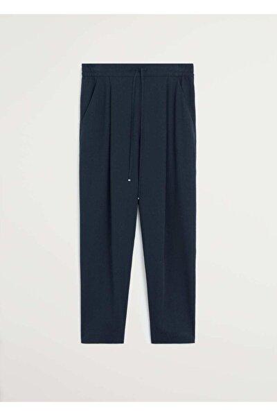 Kadın Lacivert Bağcıklı Takım Pantolon 67056705