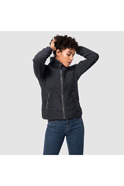 Kadın Siyah Outdoor Spor Sweatshirt