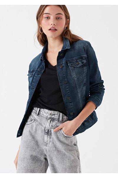 Kadın Daisy Vintage Jean Ceket
