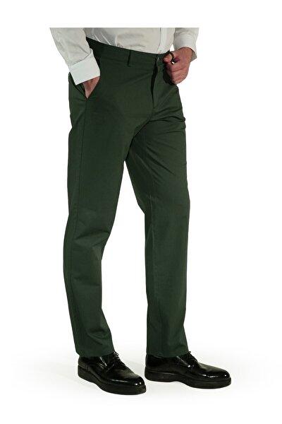 Erkek Yeşil Regular Fit Aguard Pantolon