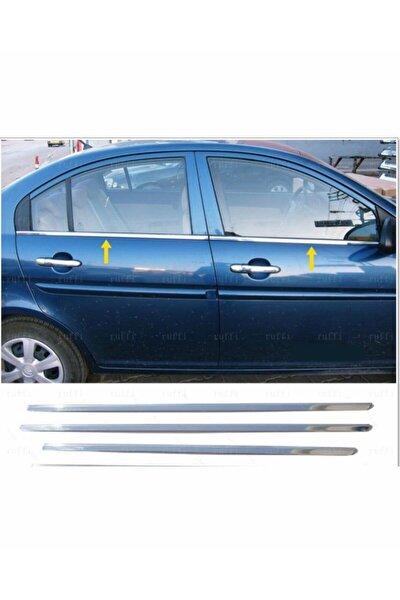 Hyundai Accent Era Krom Cam Çıtası 4 Kapı 2005 Ve Üzeri P.çelik