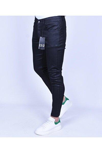 Erkek Siyah Kaplama Jeans