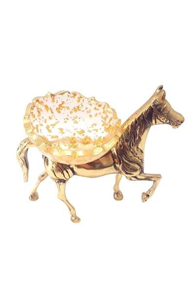 Şekerlik -dekoratif Reçine Şekerlik&pirinç At