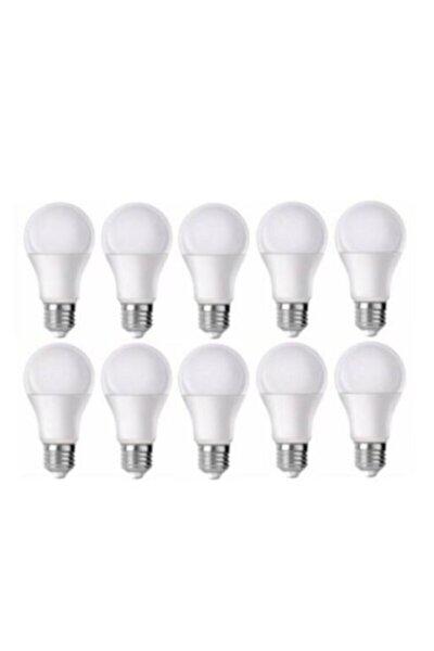 9 Watt E27 Duy Led Ampul Beyaz Işık 10 Lu Ekonomik Pt 6500 Kelvin 800 Lumen Tasarruflu