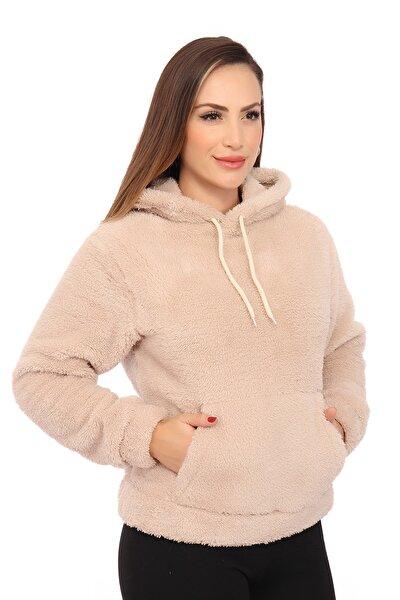 Kadın Bej Sweatshirt