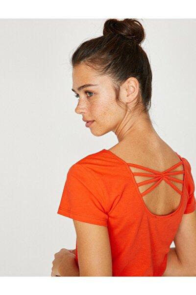 Kadın Kırmızı T-Shirt 8YAL11080OK