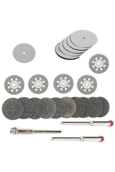 Mini Vız Vız Için Kesici Mini Disk Seti Ahşap Metal Cam Fayans Kesme Elmas Hss Fiberglas Kesici Set