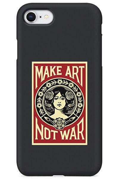 Iphone Se 2020 Lansman Make Art Desenli Telefon Kılıfı