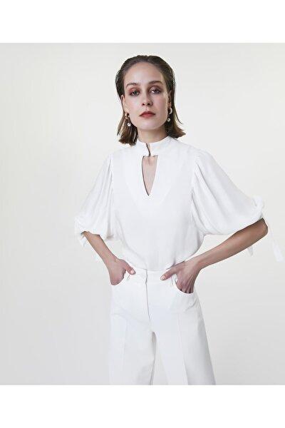 Kadın Yağ Truvakar Kol Gömlek