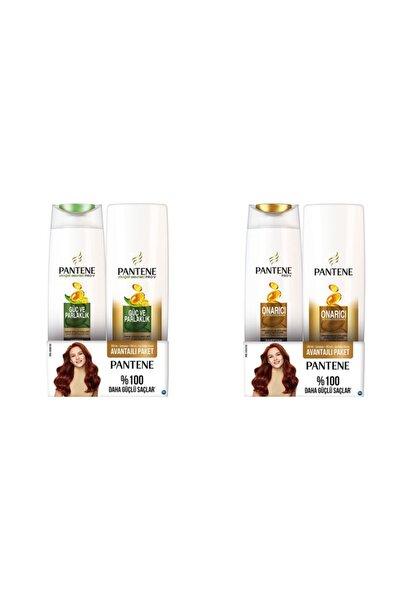 Onarıcı Koruyucu Şampuan 300 ml+ Saç Kremi 180ml & Güç Ve Parlaklık 300 ml Saç Krem
