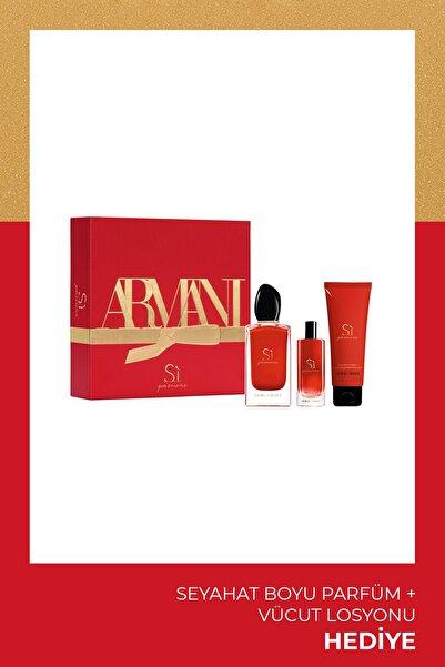 Si Passione Edp 100 Ml Kadın Parfüm Seti 3614273225250