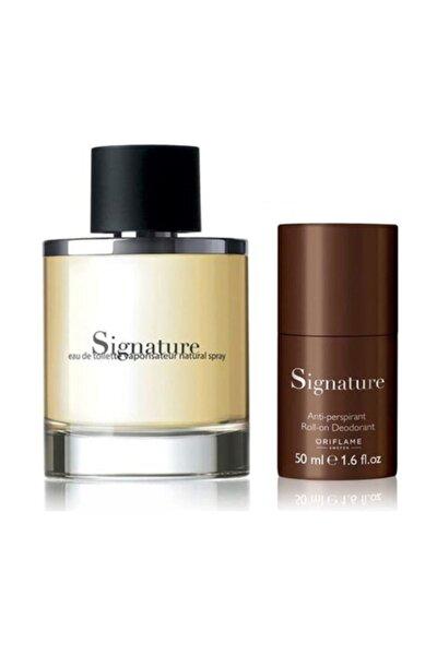 Signature Edt 75 ml Erkek Parfüm Seti 8698541481126