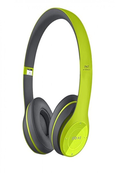 P47 Yeşil Wireless Bluetooth Kulaklık Gmx1015985-1